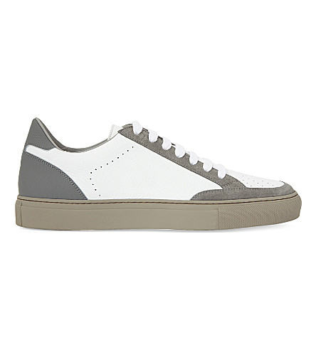 BRUNELLO CUCINELLI Apollo leather trainers (6280+6413