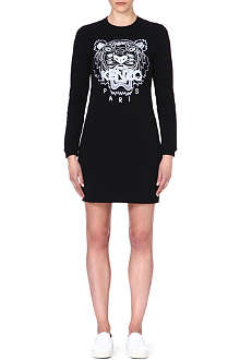 KENZO Fitted cotton dress