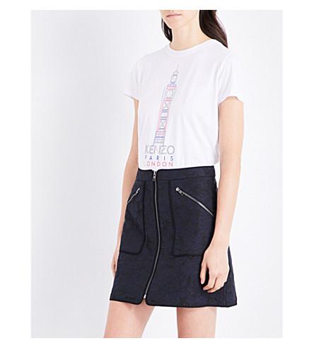 KENZO 大本棉球衣 t恤衫 (白色