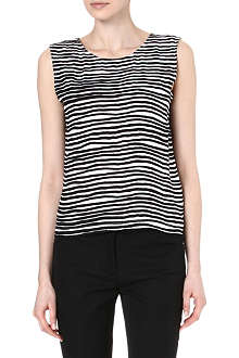 KENZO Striped silk top