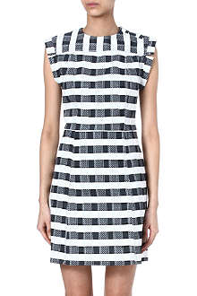 KENZO Striped twill dress