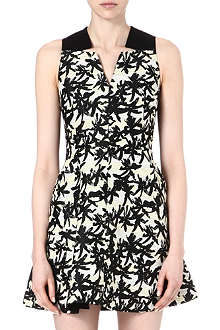 KENZO Palm-print A-line dress