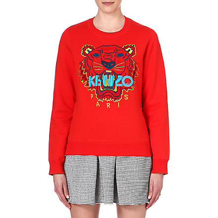 KENZO Cotton sweater (Red
