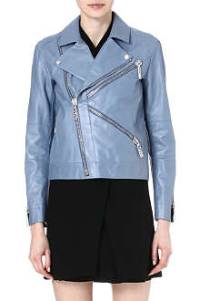 KENZO Leather biker jacket