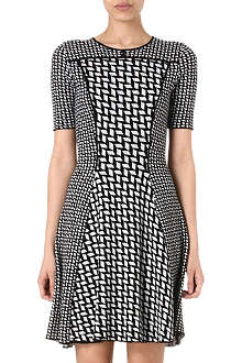KENZO Graphic jacquard dress