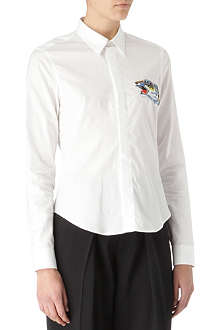 KENZO Tiger embroidered shirt