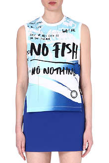 KENZO No Fish No Nothing t-shirt