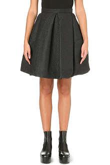 KENZO Textured wool skirt