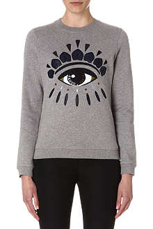 KENZO Eye embroidered sweatshirt