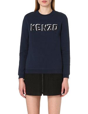 KENZO Branded jersey sweatshirt