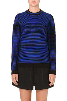 KENZO Ribbed cotton-blend sweatshirt