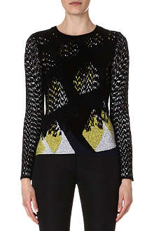 KENZO Knitted jacquard jumper