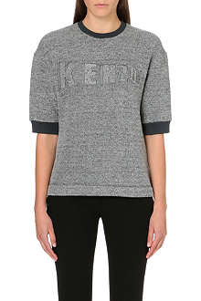 KENZO Short-sleeved branded t-shirt