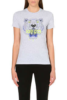 KENZO Tiger Icons cotton-jersey t-shirt
