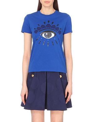 KENZO ICON Eye icon cotton t-shirt