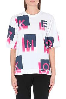 KENZO K-print cotton-jersey t-shirt