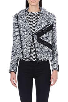 KENZO White Noise jacquard jacket