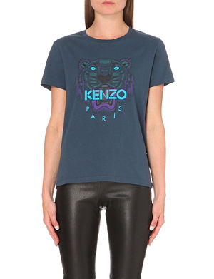 KENZO Tiger cotton-jersey t-shirt