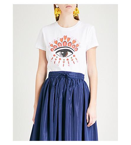 KENZO Valentine's Day Eye cotton-jersey T-shirt (White