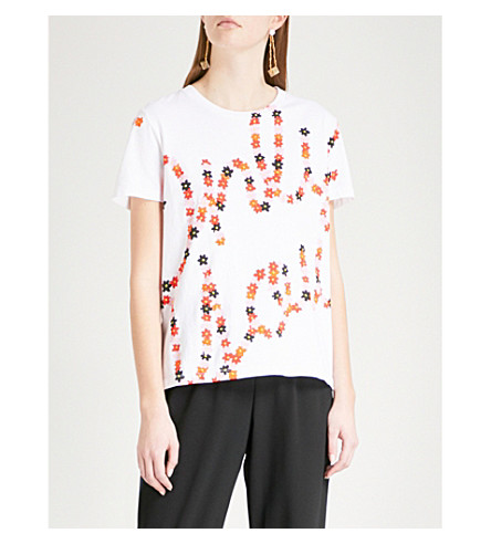 KENZO Valentine's Day Only You cotton-jersey T-shirt (White