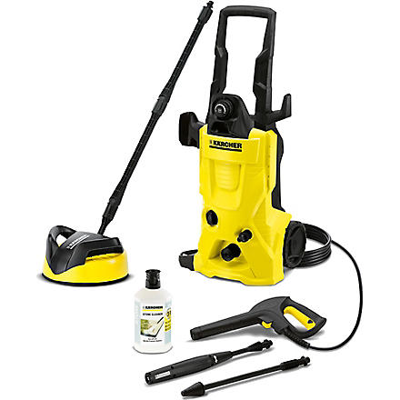 KARCHER K4 Home pressure washer (Black & yellow