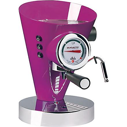 BUGATTI Diva espresso coffee machine (Lilac