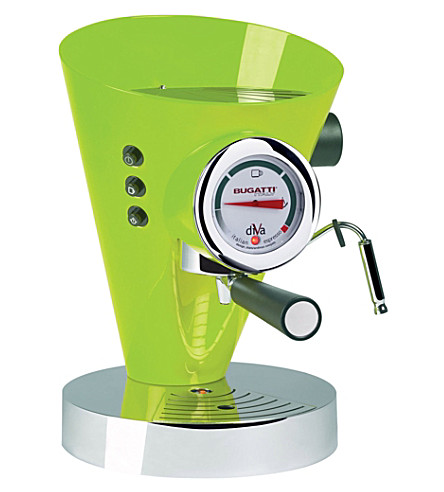 BUGATTI Diva espresso coffee machine (Green