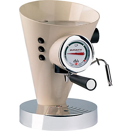 BUGATTI Diva espresso coffee machine (Cream
