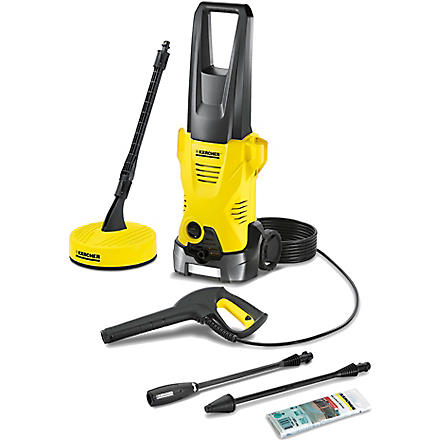 KARCHER K2 Premium Home pressure washer (Black & yellow