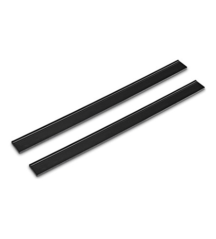 KARCHER Pack of two Window Vac replacement blades 28cm (Black