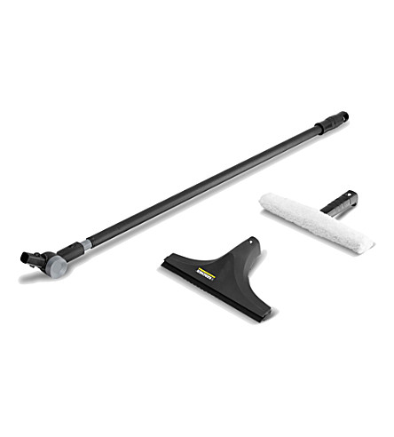 KARCHER Window Vac extension pole (Black
