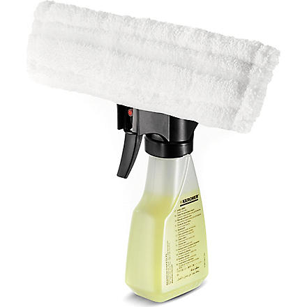 KARCHER Spray with Microfibre Wiper and detergent (Clear