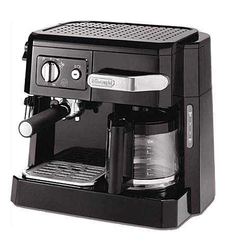 DELONGHI BCO 410 Combi espresso and coffee machine (Black