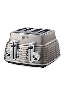 DELONGHI Scultura four-slice toaster