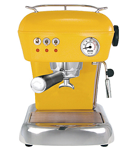 ASCASO Dream espresso and coffee machine (Sun+yellow
