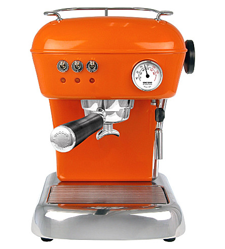 ASCASO Dream espresso and coffee machine (Mandarin+orange
