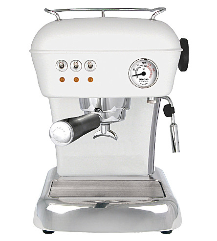 ASCASO Dream espresso and coffee machine (Cloud+white