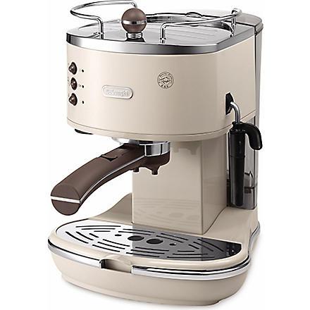 DELONGHI Icona Vintage espresso and cappuccino machine (Beige