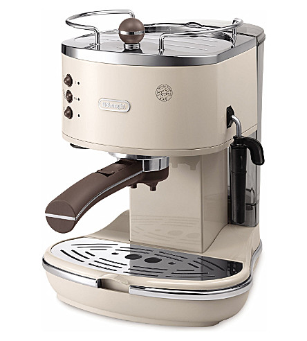 DELONGHI Icona Vintage espresso and cappuccino machine (Beige