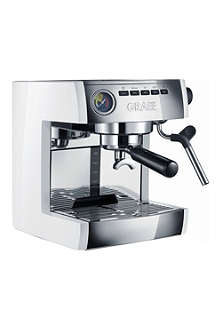 GRAEF Stainless steel espresso machine