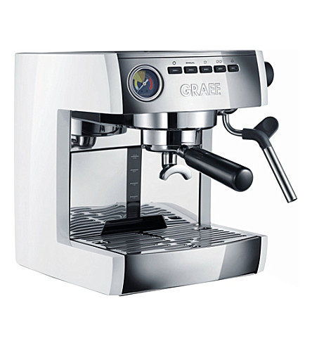 GRAEF Stainless steel espresso machine (Stainless+steel