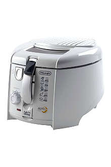 DELONGHI Rotating deep fat fryer