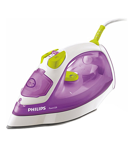 PHILIPS Powerlife steam iron 2400w (Pink