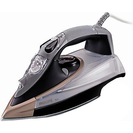 PHILIPS Azur steamglide iron 2400w (Black/grey/brown