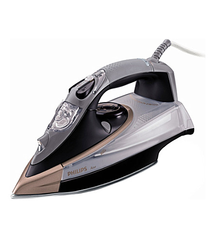 PHILIPS Azur steamglide iron 2400w (Black/grey/brown