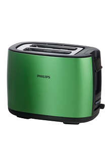 PHILIPS Metal Curve two-slot two-function toaster