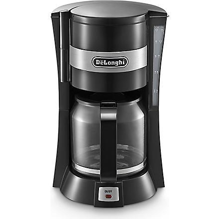 DELONGHI Black drip coffee machine (Black