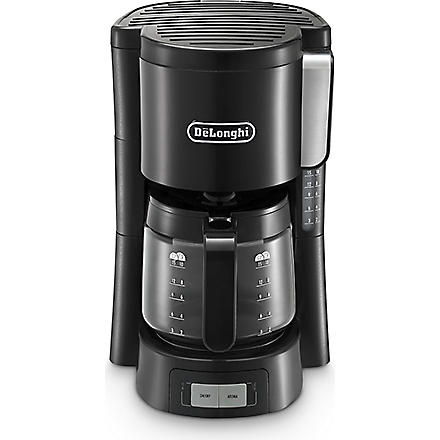 DELONGHI Drip coffee machine black and stainless steel (Black