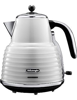 DELONGHI Scultura kettle in white