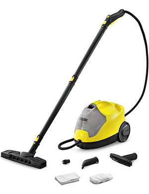 KARCHER SC.2500C steam cleaner with attachments